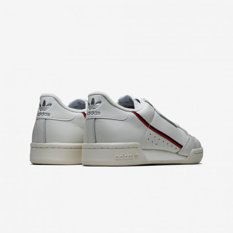 Adidas Herre Continental 80 Hvid Kondisko Online