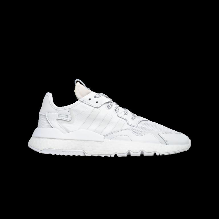 adidas Originals Nite Jogger Cg6098 HvidHvidGul Dame