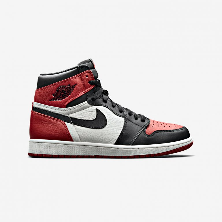 newest 15569 487e0 Jordan-AIR JORDAN 1 RETRO HIGH OG-Gym Red Black-summit-