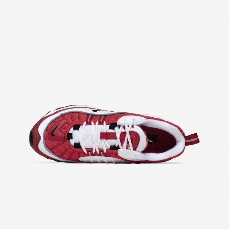 Nike Air Max 98 Dame Hvid AH6799 Rezet Store