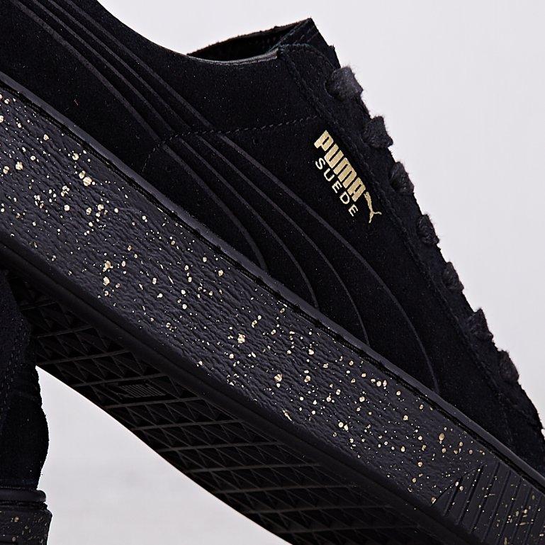 Buy Puma SUEDE PLATFORM SPECKLED Wmns Black | 363707