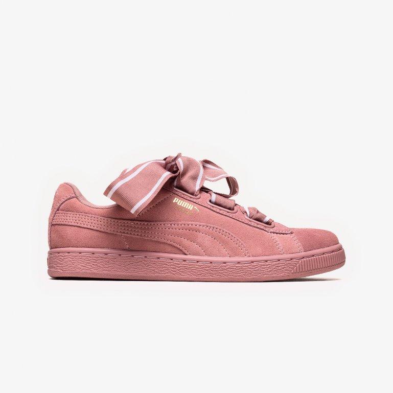 sports shoes 693b7 ec391 Buy Puma SUEDE HEART SATIN II Wmns - Pink | 364084
