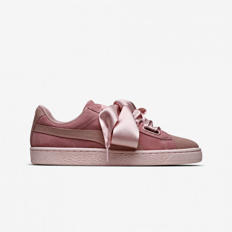 online store bf074 a2cf5 Buy Puma Suede Heart Pebble - Womens - Rosa | 365210