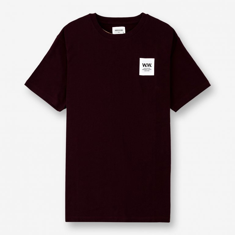 f397fdd862b Buy Wood Wood WW Box T-shirt - Red | 11835725-2